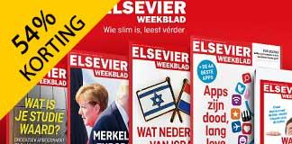 Elsevier Weekblad 1 jaar met 54% korting