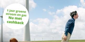 1 jaar Energiedirect met €70 cashback