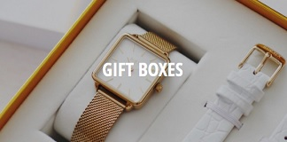 Burker Watches gift boxes