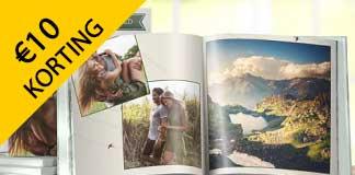 Krijg €10 korting op je Pixum fotoboek