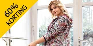 Happy Size uitverkoop voor dames met 60% korting