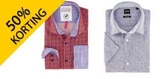 Tot 50% korting op overhemden via Overhemdenonline