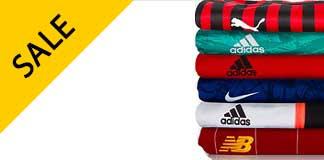 Goedkope voetbalshirts met kortingen tot 70%