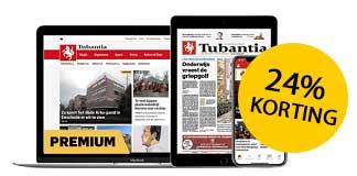 Tubantia 1 jaar digitaal met 24% korting