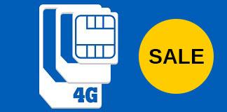 Tele2 Unlimited sim only voor €25 per maand!