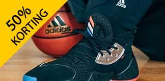 Tot 50% korting op herenkleding van Adidas