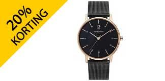 Tot 20% korting op geselecteerde horloges