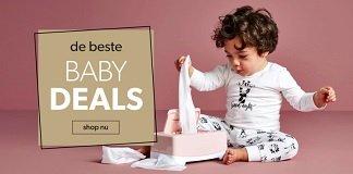 Tot 50% korting op babyartikelen