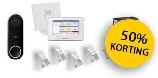 Tot 50% korting op smart home producten van 50five