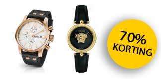 Tot 70% korting op horloges bij WatchXL