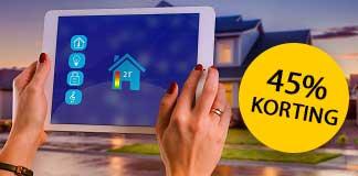 Tot 45 korting op Smart Home producten tijdens Tink sale