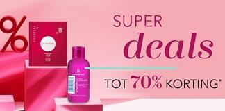 Tot 70% korting op parfums bij Douglas tijdens Superdeals!