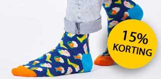 15% korting op de collectie van Happy Socks