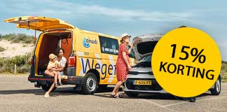 Krijg 15% korting ANWB Wegenwacht Nederland
