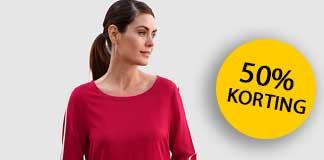50% korting op blouses en tuniek bij Klingel