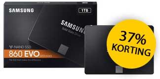 37% korting op Samsung 860 EVO 2,5 inch 1TB