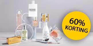 60% korting op parfums bij Wehkamp