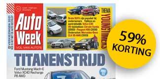 AutoWeek proefabonnement: 6 weken voor €10 (stopt automatisch)