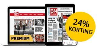 24% korting op BN DeStem digitaal 1 jaar
