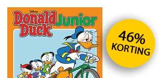 Donald Duck Junior: 6 keer voor €10 (stopt automatisch)