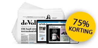 De Volkskrant 6 weken voor slechts €10
