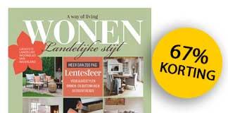 Wonen Landelijke Stijl magazine met korting!