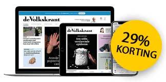De Volkskrant Digitaal met 29% korting