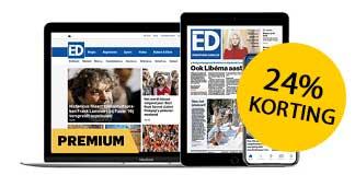 24% korting op Eindhovens Dagblad Digitaal 1 jaar