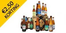 €2,50 korting op het populaire bierenpakket
