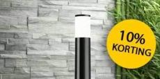 10% korting op buitenverlichting + gratis verzending bij Lampen24