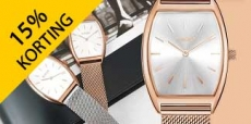 15% kortingscode voor Burker Watches