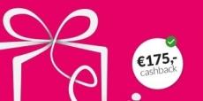 1 jaar Essent met €175 cashback