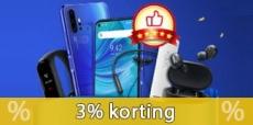 3% korting bij Dealextreme vanaf $30