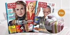 Gratis luxe dekbedovertrek t.w.v. €59 bij Troskompas