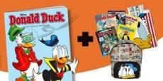 Korting op Donald Duck magazine + gratis cadeau naar keuze