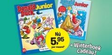 Donald Duck Junior vanaf €5,95 en gratis Winterboek