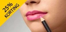 25% korting op make-up van Douglas