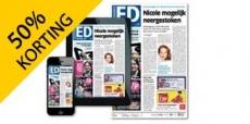 50% korting op 1 jaar Eindhovens Dagblad