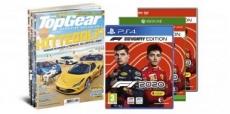 6x Topgear magazine + F1 2020 samen voor €49