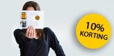 10% korting op flyers bij Onlineprinters