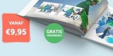 A4 fotoboek + hardcover voor €9,95 + gratis verzending