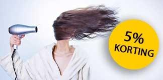 5% korting bij Hair and Beauty Online met deze kortingscode