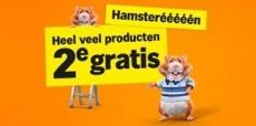 2e product gratis bij Albert Heijn tijdens de Hamsterweken