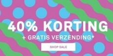 40% korting bij Happy Socks + gratis verzending