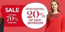 20% EXTRA korting op de sale van Heine