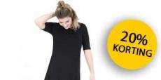 20% korting op jurken van HEMA