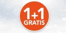 1+1 gratis bij Holland and Barrett