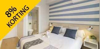 Krijg 8% korting bij Hotels.com