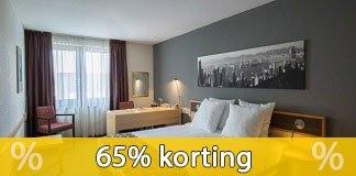 Krijg 65%  korting op hotelkamers bij Hotelspecials