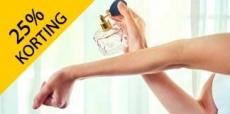 25% korting op bijna alle geuren van ICI PARIS XL